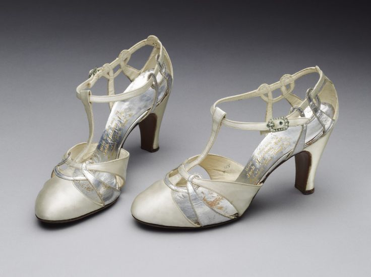 Wedding Shoes 1935 The Victoria  Albert Museum