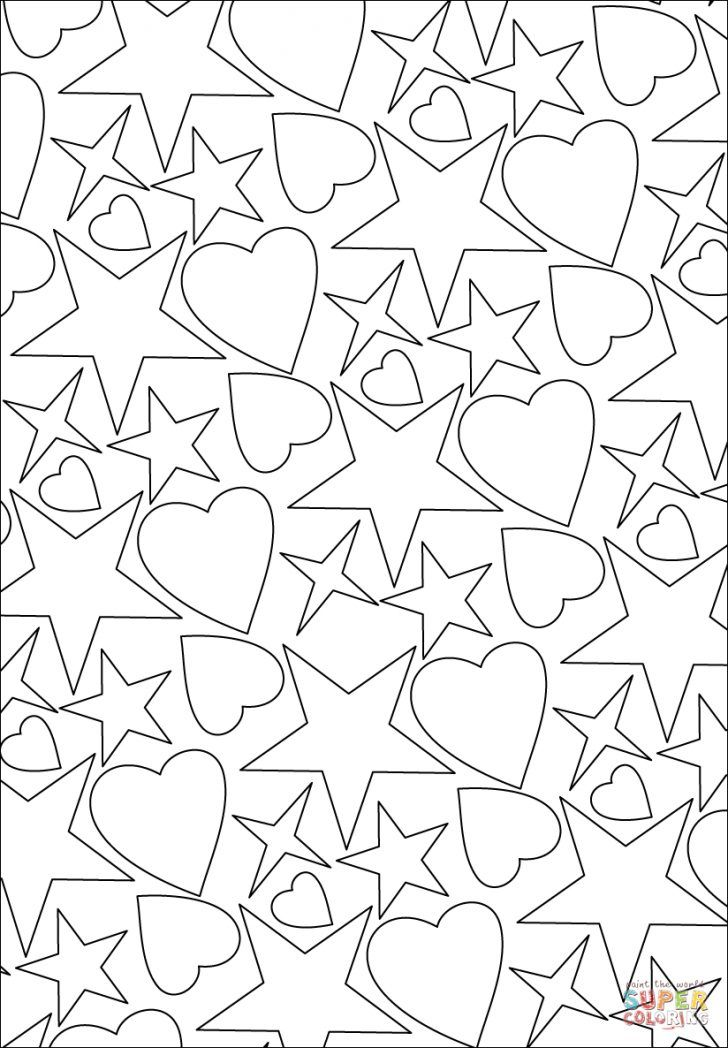 27 Excellent Image Of Stars Coloring Pages Entitlementtrap Com Star Coloring Pages Valentine Coloring Pages Heart Coloring Pages