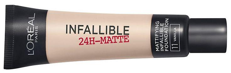 De infallible 24H Matte Foundation van L'Oréal: Een volmaakt matte foundation zonder maskereffect, die zeer langhoudend en zelfs water-, sport en saunaproof is. Wij testten hem.