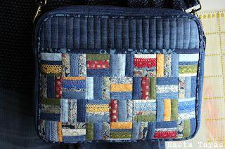 Да, именно так :)    Заказчицей мне был передан целый тюк страрых джинсов с пожеланием сшить вот такой чемоданчик.    Ну, как видно, одни...