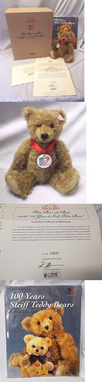 1970-Now 2602: 2002 Steiff 100 Years Of Steiff Teddy Bears Book And Teddy Bear W Coa #038884 -> BUY IT NOW ONLY: $195 on eBay!