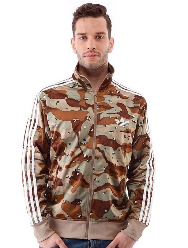 Details about New Adidas Originals Camo Army Track Jacket