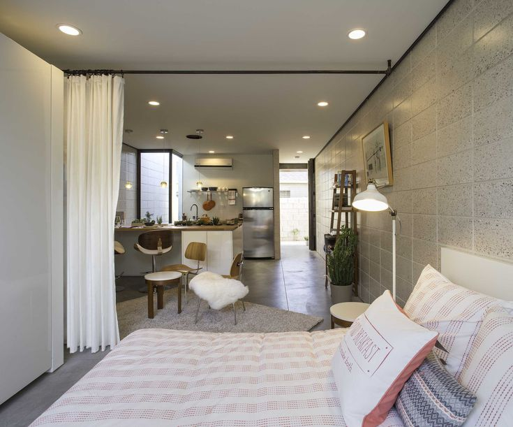 White Stone Studios U2013 Modern Micro Apartments In Downtown Phoenix. Tiny  Homes InteriorStudio ...