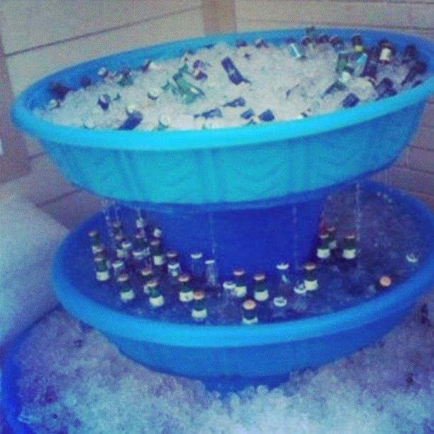 White trash beer fountain. #thewhoot