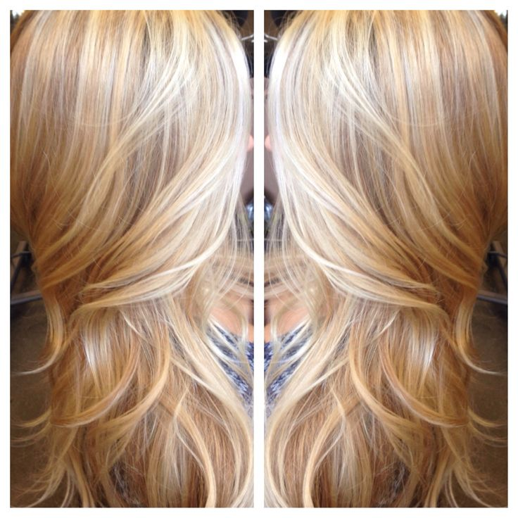 Vanilla highlights tousled in a darker golden blonde base for the ultimate in versatility! The Salon at Mill Creek Town Center 425.876.3993