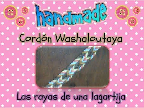 Cordon para gasa o fajon Wayuu - YouTube