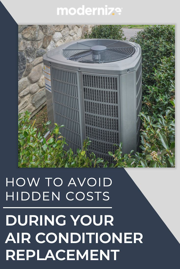 Avoid Hidden Costs During Your Air Conditioner Replacement Air