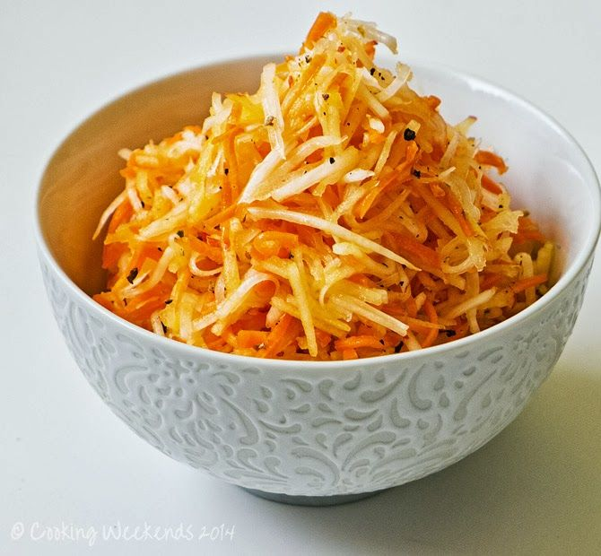 Apple and Carrot Slaw is wonderful! | Food | Pinterest | Carrot Slaw ...