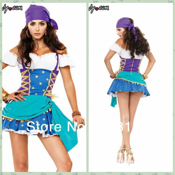 Discount Gypsy Pirate Sexy Gothic Vintage Halloween Carnival Cosplay Costumes For Women Female Fancy Dress Party Online with $48.66/Piece on Wengzuiqin0220's Store | DHgate.com