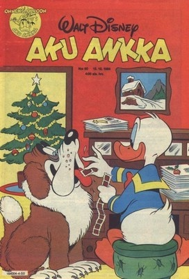 Aku Ankka, the Finnish Donald Duck weekly (this issue from 1984).