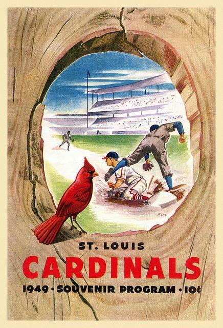1949 St Louis Cardinals Scorecard