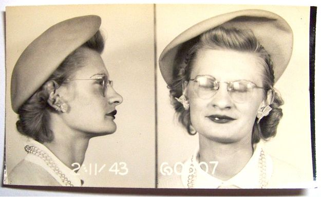 23 Vintage Bad Girl Mugshots