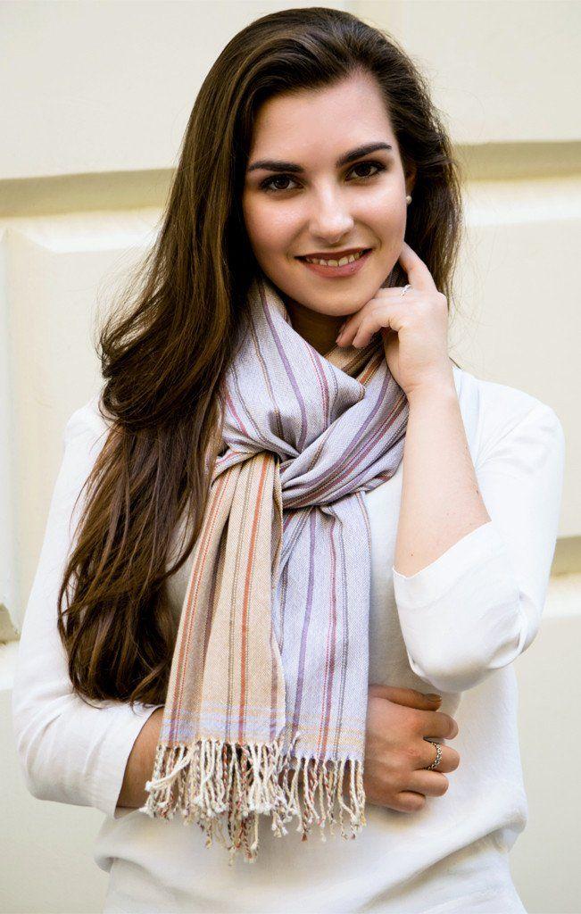 Striped scarf – ILLANGO