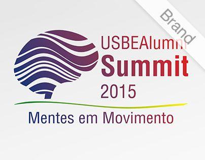 "Confira meu projeto do @Behance: ""Alumni Summit"