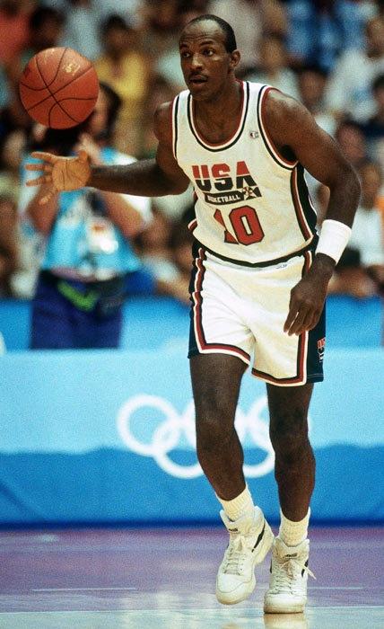 """Clyde Drexler USA Basketball Team """"Dream Team"""""""