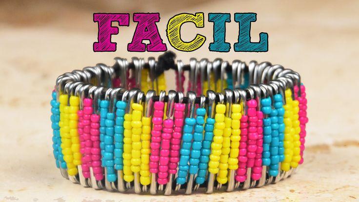 ¡¡Haz tus propias pulseras FÁCIL!!   Manualidades para regalar   Brazale...