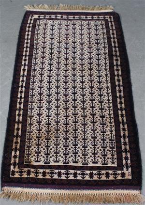 Lauritz.com - Orientalske tæpper - Iransk Baluch. 206x102 cm. - DK, Esbjerg, Oddesundvej
