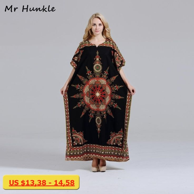 Brand Mr Hunkle New Arrival Dashiki Dress Fashion African Print Loose Maxi Summer Vestidos African Dashiki Dresses for Women