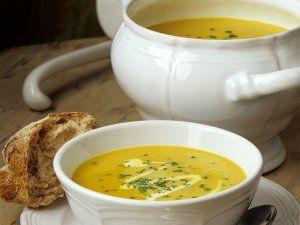 Rezept: Pastinakensuppe mit Curry