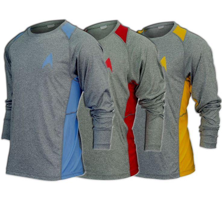 Star Trek Long-Sleeve Running Shirt (unisex)
