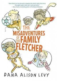 With four brothers, a dog, a cat, school projects, soccer matches, and a grumpy neighbor, the Fletchers are your typical American family…with two dads, and siblings who are adopted kids from various ethnic backgrounds. A middle-grade family story featuring gay parents and interracial families that is never about either issue - from SLJ