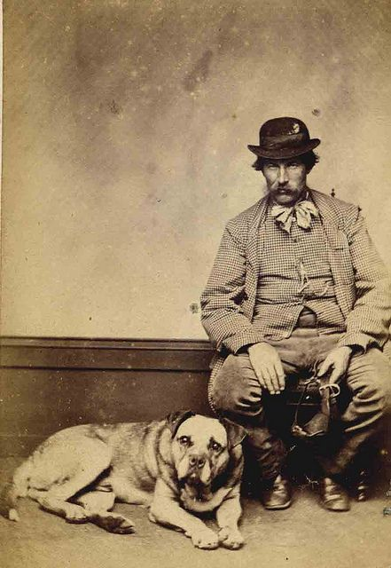 Dickens character by Libby Hall Dog Photo, via Flickr