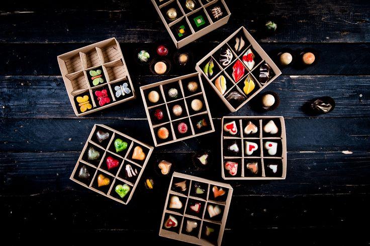 czekoladki handmade