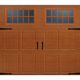Pella Carriage House Series 96 In X 84 In Insulated Golden