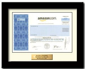 Buy Amazon stock Gift in 2 Minutes | #1 in Single Shares of Stock