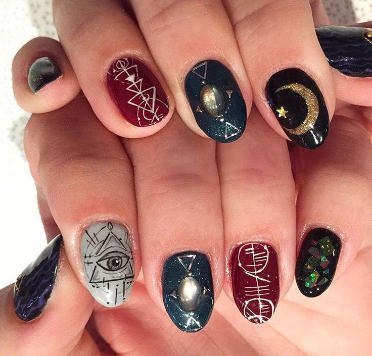 Zodiac Nails By