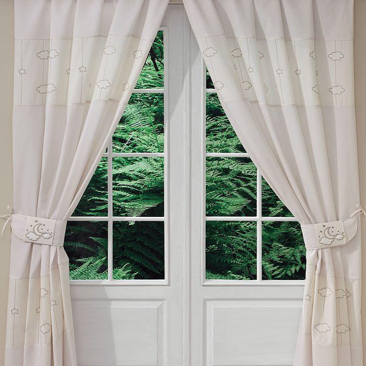 Bebek Odası Perdesi - Luna Elegant 140 X 260 cm boyutlarında. #bebekodası #perde #dekorasyon   #dekoratif #curtain #bebekodasıdekorasyon
