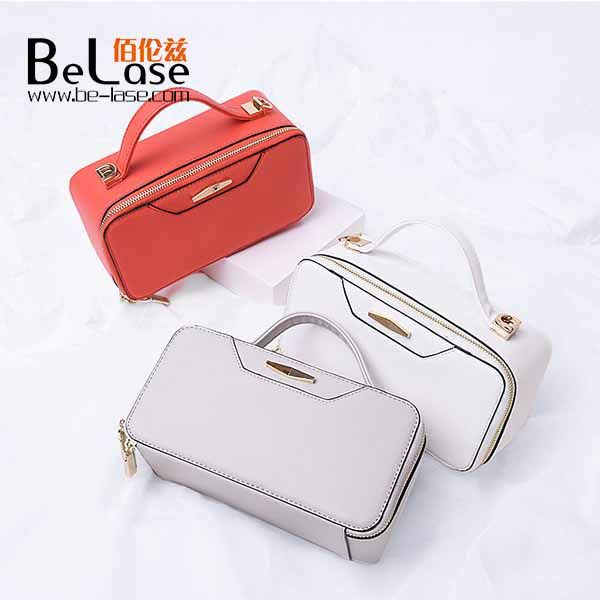 Newest PU leather evening bag stereotypes fashion handle bag