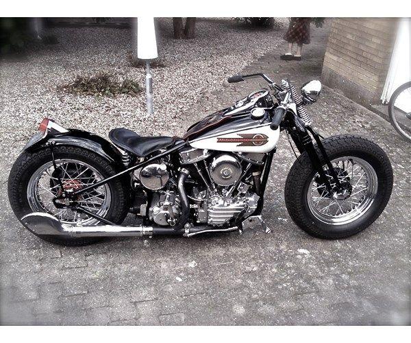 82 Caf Racer 76 Custom Harley Davidson Panhead 1952
