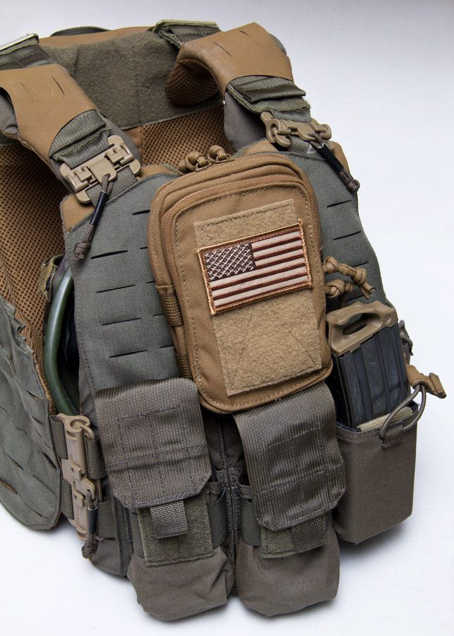 "Strandhögg MBAV Cut Plate Carrier by FirstSpear paired with MilSpec Monkey  Stealth Compact Pouch.  Strandhögg  is the Old Norse Viking term for ""lightning raid"""
