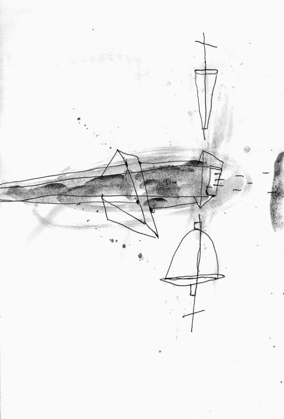 Csaba Pál, drawing 11, A/5