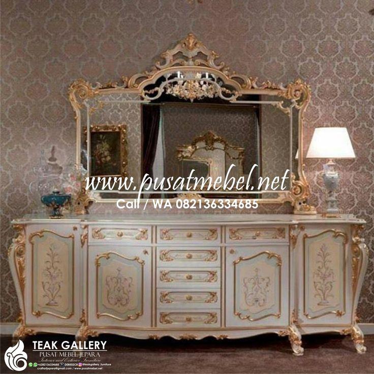 Model Meja Rias Klasik Eropa