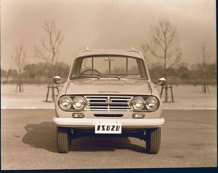 The Isuzu Wasp was the first pick-up in Isuzu's history.   #Isuzu100 #IsuzuUK #SPEAKISUZU #Isuzu #cars #driving #history #heritage