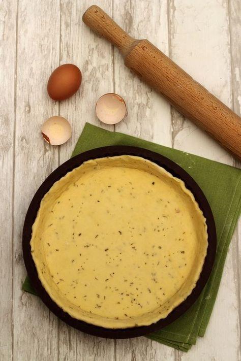 Une pâte brisée sans matière grasse? Oui c'est possible! Il suffit de rem…