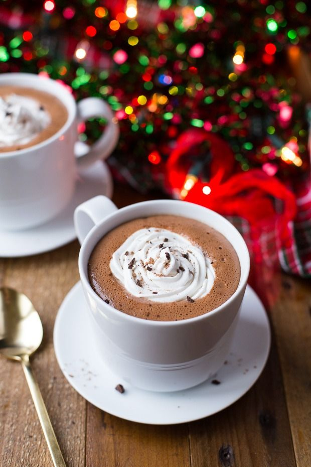 Now that the holidays are over, sit back, relax and sip on this delicious vegan hot chocolate recipe.