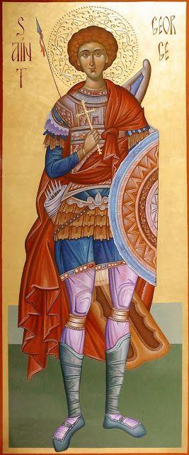 Πνευματικοί Λόγοι: Άγιε Τροπαιοφόρε Μεγαλομάρτυς Γεώργιε, πρέσβευε υπ...