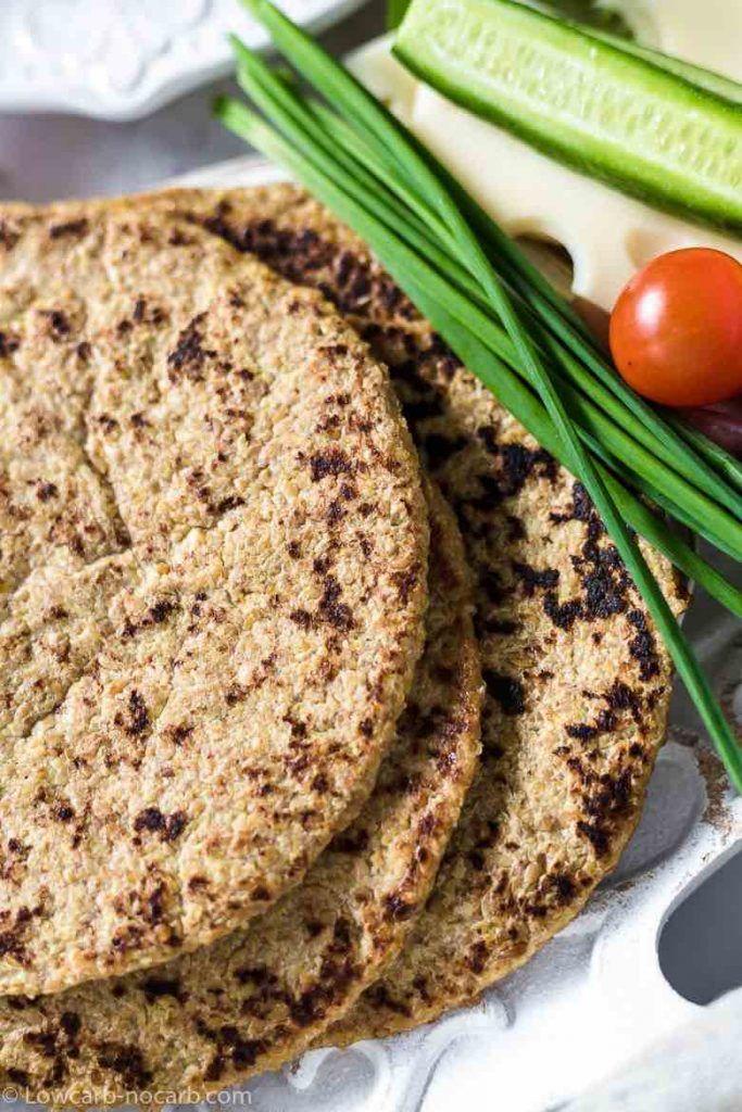 Simple To Make, Those Easy Flaxseed Keto Wraps Recipe