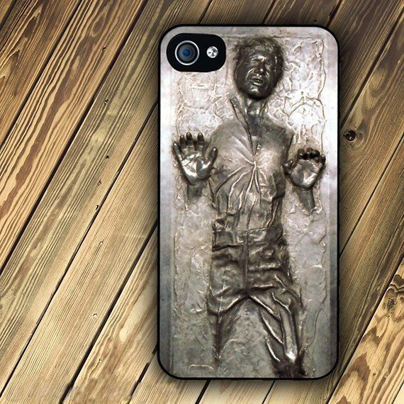 Love it. Star Wars Han Solo Frozen in Carbonite iPhone 4 case