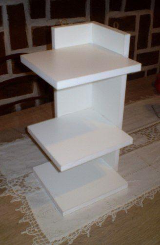 Esquinero Organizador Mueble De Madera - $ 290,00