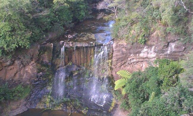 Birds eye view of Mokoroa Falls