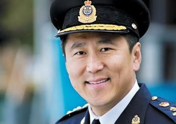 Jim Chu, SFU alumni and 32 year veteran with the Vancouver Police Department.