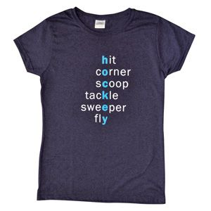 Field Hockey  Words tee shirt clothes