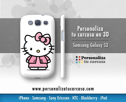 Personaliza tu Carcasa Samsung Galaxy S3