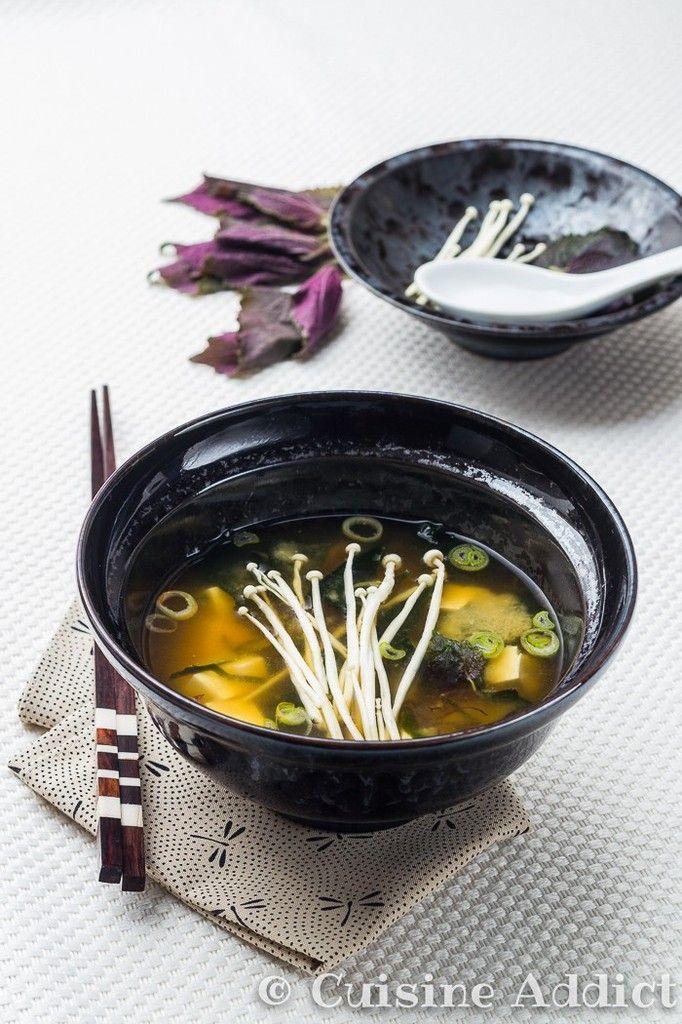 Soupe Miso Enoki - Photo 1