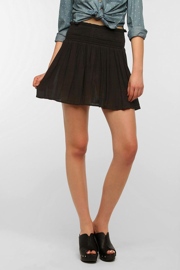 #Urban Outfitters         #Skirt                    #Ecote #Eudora #Smocked #Waist #Skirt               Ecote Eudora Smocked Waist Skirt                                              http://www.seapai.com/product.aspx?PID=1531634