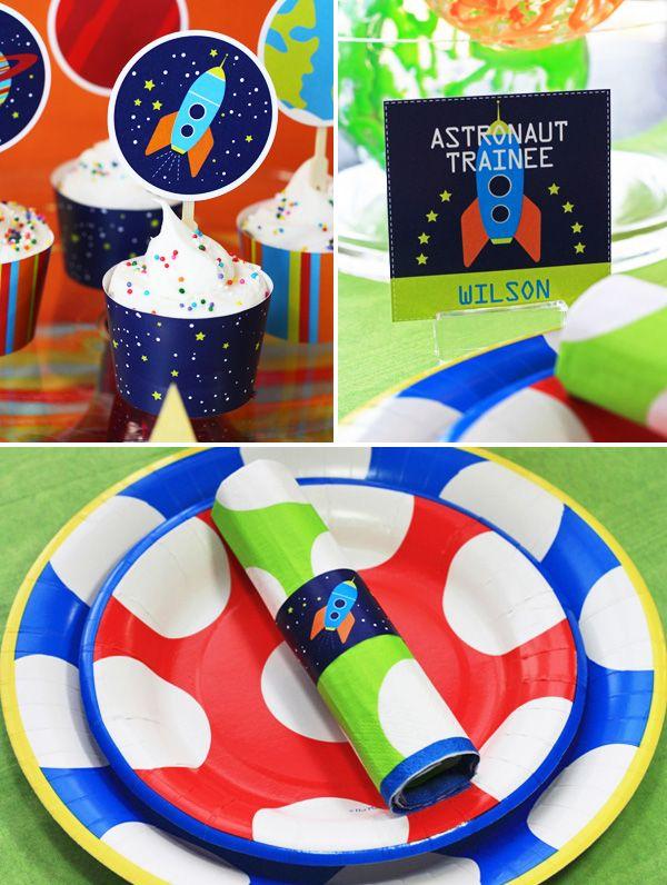 astronaut party theme - 600×796